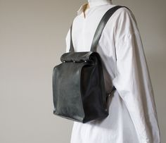 Latex Backpack | Hanger Inc | Shop | NOT JUST A LABEL