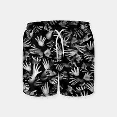 Appetite Of The Living Dead Swim Shorts, Live Heroes