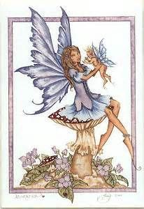 Haha here we go. How can I look like a fairy mom? (Only half joking. This was my favorite artist back in grade school)