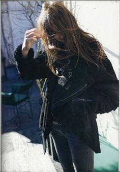 Jacket.  photos of Charlotte Gainsbourg