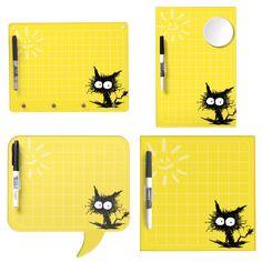 Unkempt Kitten Grid Dry Erase Board ! =) #cat #DryEraseBoard