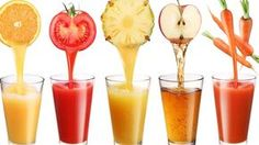 Drinking squeezed juice is a very common way to get nutrition from our daily diet.Many of you may drink juice by this way every day. However, researcher pointed that both the vitamin C and dietary fiber in the juice is less than raw fruits. Healthy Juices, Healthy Smoothies, Healthy Drinks, Smoothie Recipes, Juice Recipes, Eating Healthy, Healthy Living, Fruit Smoothies, Healthiest Drinks