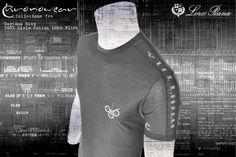 T shirt CHRONOWEAR ROLEX DAYTONA 16520 / 116520 - LORO PIANA Grey Lisle Cotton - infos : info@chronowear.it