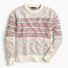 Shop the Colorful Fair Isle Crewneck Sweater at JCrew.com and see our entire selection of Women's Sweaters.