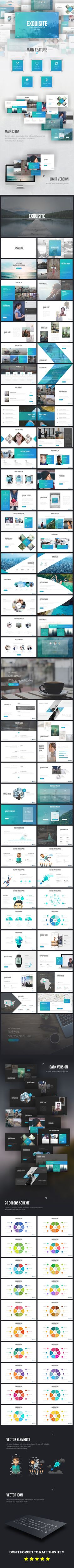 iOS 9 Style PowerPoint Template | iOS, Kreativ und Füchse