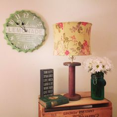 Cute with vintage appeal. 😊  Upcycled Sewing Spool Lamp  upcycled by @FurnitureAlchemy