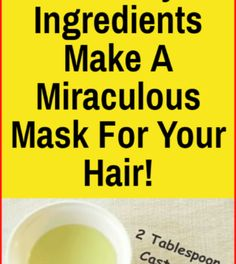 Your Hair Will Grow Really Fast: With Only 3 Ingredients Make A Miraculous Mask For Your Hair – Page 2 – Airplus Health Diary, Health Guru, Health Routine, Health Goals, Health And Wellness, Health Activities, Healthy Words, Healthy Exercise, Pregnancy Health