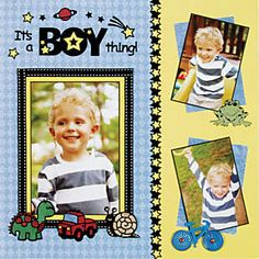 boy thing layout