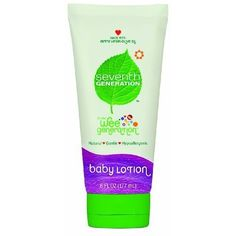 Seventh Genaration Baby Lotion - 6 Oz, Pack of 3 ( Value Bulk Multi-pack) Seventh Generation http://www.amazon.com/dp/B0083KUIWO/ref=cm_sw_r_pi_dp_g6lKvb0C89WJF