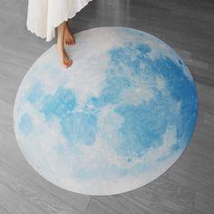 Full Moon picnic-mat, BLUE MOON WALTZ (interior sheet, picnic-mat -135cm / 53inch)
