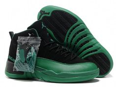 Jordan Retro 12 Green Black  basketballshoes Retro Jordans 7e3a637d53