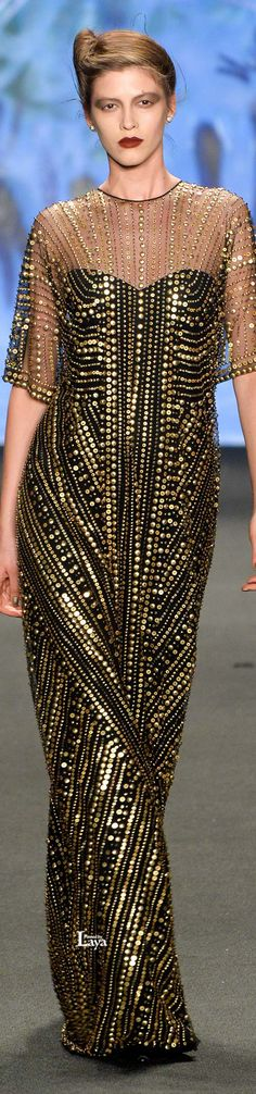 Naeem Khan Fall 2015 Ready-to-Wear