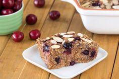 Hungry Girl's Healthy Cherry Pie Oatmeal Bake Recipe