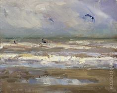 New Blog Post: http://rosepleinair.com/seascape-pleinair-kite-surfers/ Seascape Pleinair: Simplify When you see people creating seascapes indoors, most often they get into trouble when painting the shoreline: where the water and sand meet. Best is to take notes at the scene, or create studies, or paint the whole thing outdoors : ) My students in my classes often... View More at: http://rosepleinair.com #Beachpainting, #HowToPaintWater, #Kitesurfers, #Painting, #Pleinair, #Ple