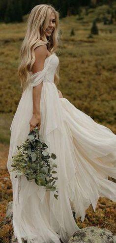 19 bästa bilderna på Bröllopsklänningar i chiffong