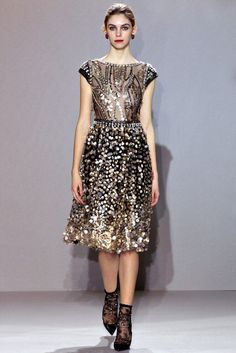 Collette Dinnigan | Fall 2012 Ready-to-Wear Collection | Vogue Runway