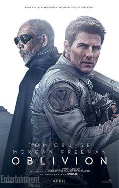Oblivion - New Trailer    http://www.senses.se/oblivion-tom-cruise-morgan-freeman-och-sci-fi/