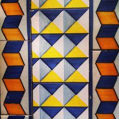 Portuguese tiles in Lisbon