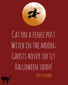 Halloween soon... A Halloween poem