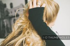 ::all about the thumb hole:: | from The Skinny Confidential
