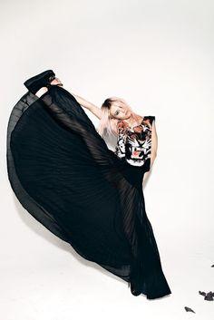 Complot, invierno 2012. Model: Charlotte Free