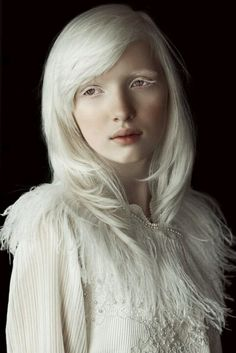 #Beauty , #makeup , #albino