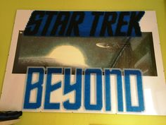Star Trek Beyond perler beads by Szilvi