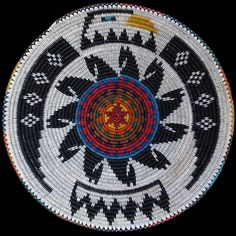 Navajo Sacred Animals Basket - Peggy Black (#384)