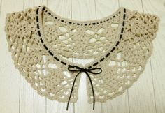 Atelier | · handicraft sewing-knitting | knitting | How to make cute collar with adults