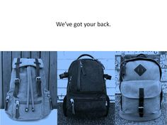 The days are just zooming by with only 3 days before our website goes live! How exciting!!! When you visit our website in a few days time, be sure to take a look at our backpacks in vintage, sporty, and minimalist styles. From left to right, here's a quick look at our Ötzi Ruksak, Te Ora Backpack and Ravenloch Backpack inspired by the German, Maori and Scottish people of Australia. Have a great weekend everyone!