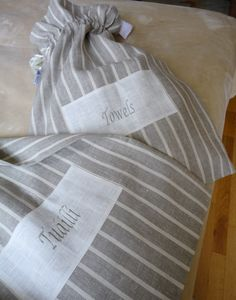GORGEOUS PURE LINEN TOWEL OR TUÁILLÍ (TOWELS IN IRISH) MADE IN IRELAND  AGNESHDESIGN.COM