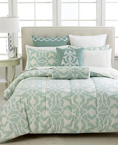 Barbara Barry Poetical Celadon Collection - Bedding Collections - Bed & Bath - Macy's: $115