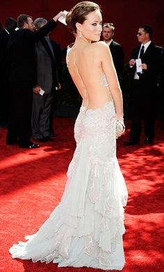 Sexiest Emmys Looks Ever - Olivia Wilde in Marchesa, 2009