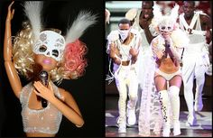 Cherish Baby, it's me ♥: Lady Gaga for Barbie Inspiration 8;]
