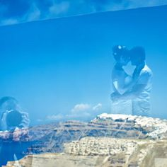 Book a Santorini photo shoot by Santorini photographer Alexander Hadji about the island & will make sure you will get the most out of your Santorini photo shoot! Santorini Photographer, Santorini Wedding, Bright Colours, More Photos, Light In The Dark, Wedding Photos, Clouds, Photoshoot, Island