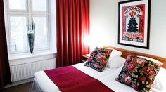#artsy #bedroom at Clarion Collection Hotel Victoria Jönköping