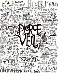 I like how there's lyrics from all of their albums, and a lot of their songs, instead of just King For A Day and Bulletproof Love.