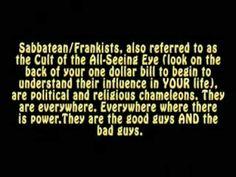 Connecting the dots of the The Zionist Crypto-Jewish Sabbatean/Frankist illuminati