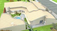 CASAS EM L veja dicas ( plantas, quartos, piscina ) | Bela & Feliz 3 D, Mansions, House Styles, Outdoor Decor, Travel, Inspiration, Home Decor, House Template, Rooftops