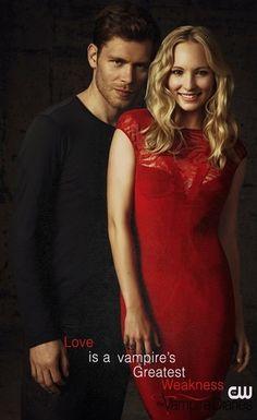 Love is a vampire's Greatest Weakness- Klaus & Caroline in The Vampire Diaries - klaus-and-caroline Photo