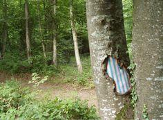 http://www.skovsnogen.dk/ Samuel Francois – Tree Paintings