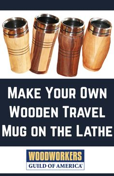 A re-usable travel wooden mug makes a nice personal gift for the coffee drinkers in your life. The stainless steel insert and cover clean easily and the right finish makes the wooden body very durable.I've turned dozens of these mugs; from solid pieces of wood, glued up blocks with contrasting colors and using stave construction; the latter example is the basis for this article.