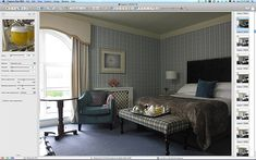 One of the first pictures taken during the shoot at the Killarney Park Hotel in the Irish County of Kerry. Morrisons, Park Hotel, Staging, One Pic, Irish, Bed, Pictures, Room, Furniture