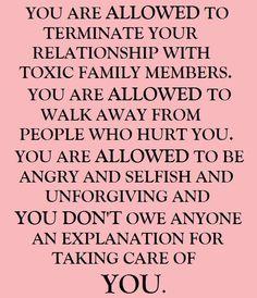 ToxicFamilyMembers - God says walk away