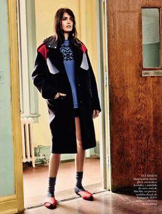 Amanda Wellsh by Jason Kibbler for Vogue Spain October 2014