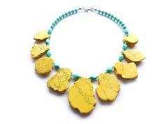 Collier // Statement necklace by felizas via DaWanda.com
