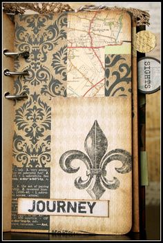 Awesome travel journal made with tags