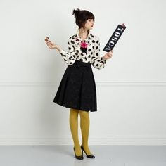 Kate Spade. Who wouldn't listen to a teacher who wore this to work?