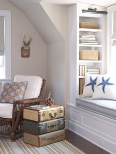 cozy window built-ins