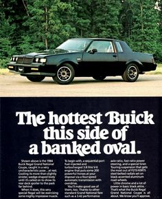 59 best Buick Regal timeline  images on Pinterest   Buick regal     Auto History Preservation Society Library   View Ad  Brochure or Press  Release